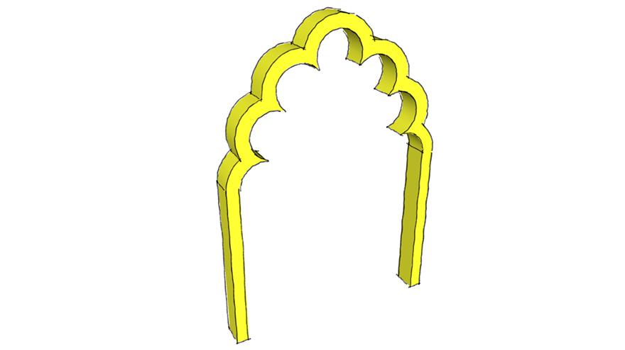 multifoil arch